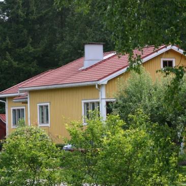 Kartanonkeltainen talo, 4 Öljyn Maali
